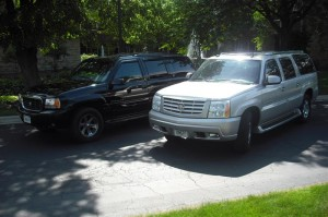 Both Escalades